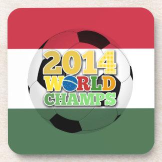 2014 World Champs Ball - Hungary Drink Coasters