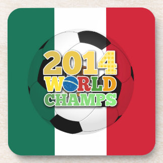 2014 World Champs Ball - Mexico Beverage Coasters