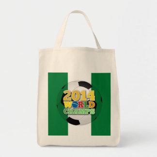 2014 World Champs Ball - Nigeria Canvas Bags