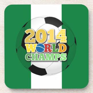 2014 World Champs Ball - Nigeria Coaster