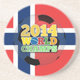 2014 World Champs Ball - Norway Drink Coaster