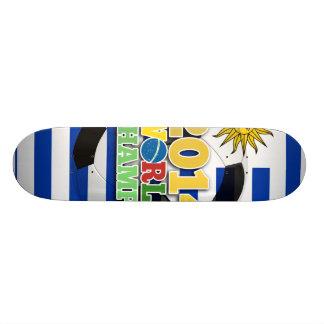 2014 World Champs Ball - Uruguay Custom Skateboard