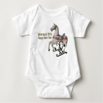 2014 Year of the Horse - Infant Creeper