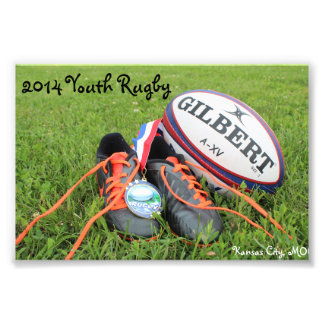 2014 Youth Rugby Photo Print