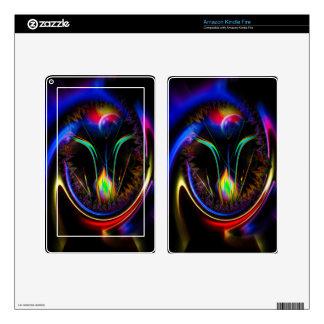 20150608-Fertile imagination 8 Rainbow Flower Kindle Fire Skin
