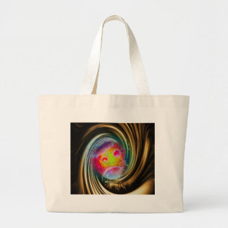 20150610-Geheimniss  Space and time Large Tote Bag