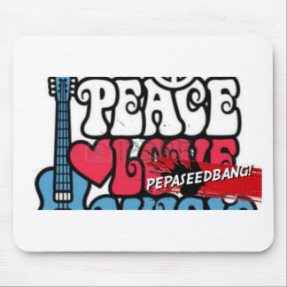 2015.9.8 BANG!!! ft PEPASEED FT pEACE No Joke loVE Mouse Pad