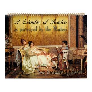 2015: A Calendar of Readers