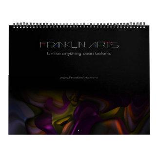 2015 Abstract Art Calendar
