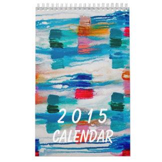 2015 Abstract Calendar Wall Calendars