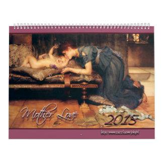 2015: Amor de madre Calendario De Pared