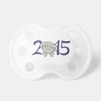 2015 años de las ovejas/de la cabra/del espolón chupete de bebe