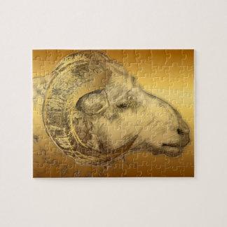 2015 años de las ovejas o de la cabra - rompecabezas