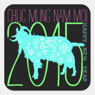2015 Años Nuevos lunares vietnamitas del pegatina