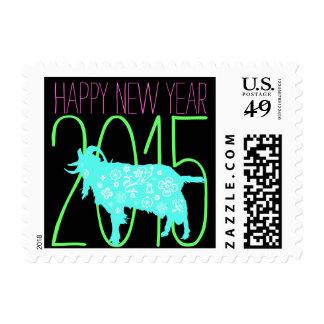 2015 Años Nuevos vietnamitas Têt - año de la cabra Sello