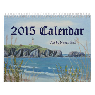 2015 Art Calender by Naomi Ball Calendar