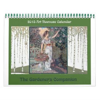 2015 Art Nouveau Calendar: A Gardener's Companion Calendar