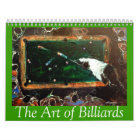 2015 Art of Billiards Calendar