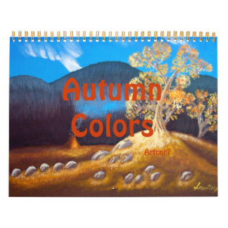 2015 Autumn Indian Tepee Calendar Two Page