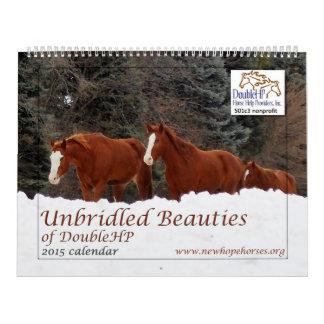 2015 bellezas desenfrenadas del calendario de