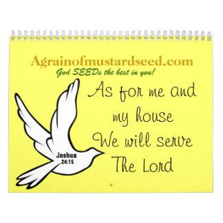 2015 Bible Quotes Calendar
