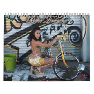 2015 Bike Dreams Original Roll-UP Pinup Calendar