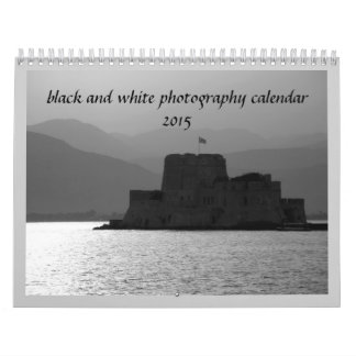 2015 Black and white photography calendar