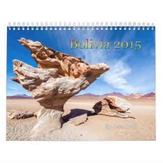 2015 Bolivia Calendar