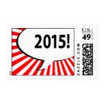 ¡2015! burbuja cómica sellos