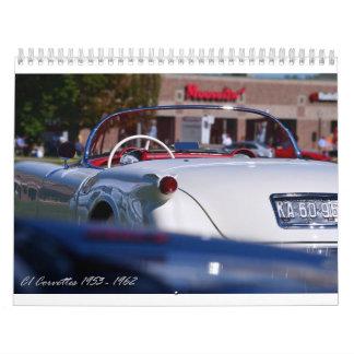 2015 C1 Corvette Calendar
