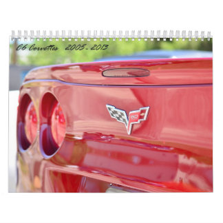 2015 C6 Corvette Calendar