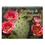 2015 Cactus & Succulent Flower Calendar