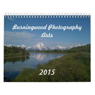 2015 Calendar by Burningwood Arts