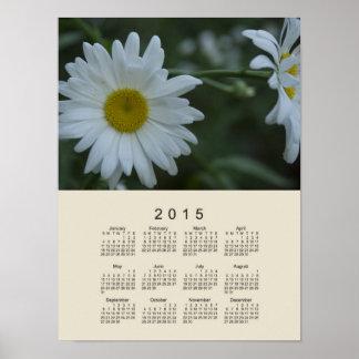 2015 Calendar by Janz Daisy Poster