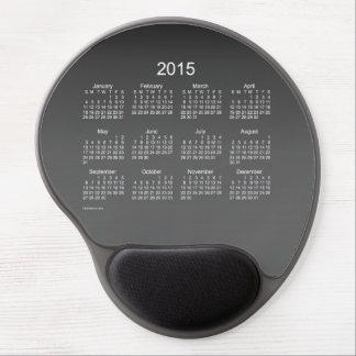 2015 Calendar by Janz Gradient Black Gel Mousepad