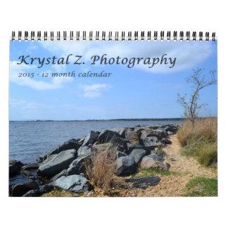 2015 Calendar by Krystal Z!