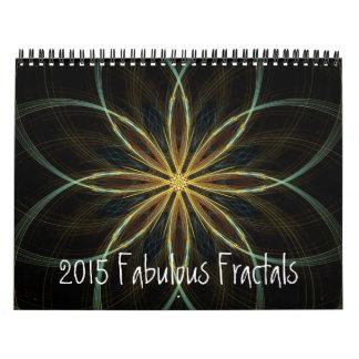 2015 Calendar Fabulous Fractals