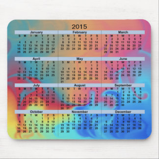 2015 Calendar Fire and Ice Mousepad