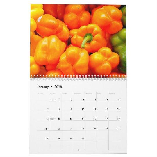 2015 Calendar - Fruit and Veggies