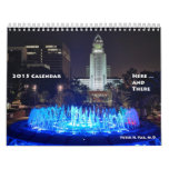 2015 Calendar Here and There (Small)