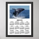 2015 Calendar Killer Whale Graphically Framed Poster