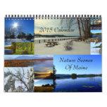 2015 Calendar Nature Scenes Of Maine