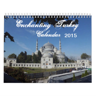 2015 Calendar of Enchanting  Turkey