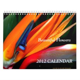 2015 Calendar of Flowers