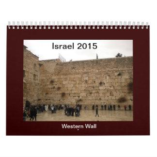 2015 Calendar of Israel