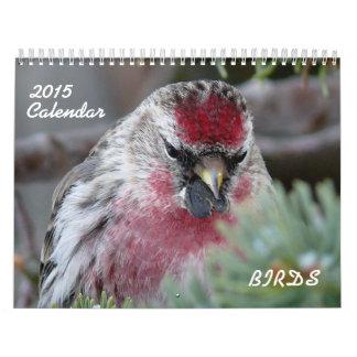 2015 Calendar of small birds