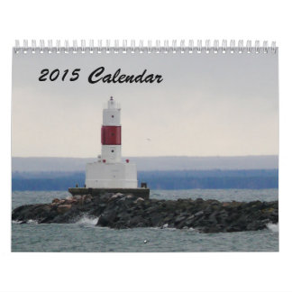 2015 Calendar of the shores of Marquette MI