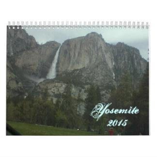 2015  Calendar of Yosemite