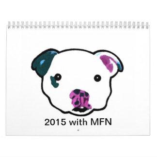 2015 Calendar with MFN