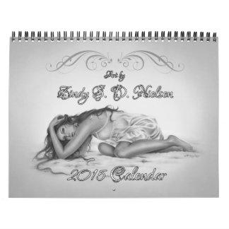 2015 Calendar Zindy Art